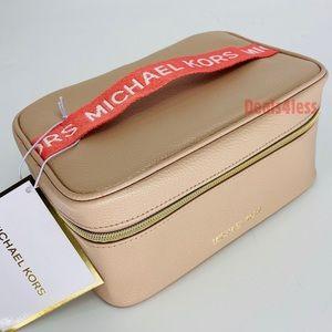 Michael Kors Cosmetic Bag Pouch Train Case Travel
